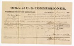 1881 July 21: Voucher, U.S. v. John Beason, assault with intent to kill in the Indian Country; includes cost of per diem and mileage; Collie Albert, witness; G.H. Williams, witness of signatures; V. Dell, U.S. marshal; Stephen Wheeler, commissioner