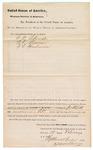1882 February 17: Venire facias, commanding the summoning of petit jurors including G.W. Schneider, W.T. Bowman, J.L. Henderson; Isaac Parker, judge; Stephen Wheeler and G.S. Williams, clerks; V. Dell, U.S. marshal; H. Stricken, deputy