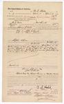 1882 May 11: Voucher, U.S. v. John E. Smith; U.S. v. Thomas Johnson; paid to B.J. Walls for service as posse comitatus; Thomas Walls, U.S. marshal; issued by Stephen Wheeler, U.S. commissioner and clerk; G.S. Williams, clerk; Thomas Boles, U.S. marshal