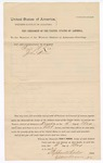 1882 May 16: Venire facias, commanding Pryor N. Lee and John Wren, to serve as petit jurors; Isaac C. Parker, judge; Stephen Wheeler and G.S. Williams, clerks; Thomas Boles, U.S. marshal; John Paterson, deputy