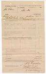 1883 March 02: Voucher, U.S. v. Joe Wilson; served by J.W. Searle, deputy marshal; Stephen Wheeler and G.S. Williams, clerks; Thomas Boles, U.S. marshal
