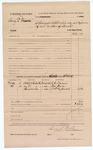 1883 February 24: Voucher, U.S. v. Henry D. Dixon; R.J. Cravens, Ally Dixon, William M. Steward, witnesses; served by B.F. Hobbs, special deputy; Thomas Boles, U.S. marshal