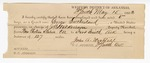 1883 May 15: U.S. v. George Southerland, larceny in the Indian Country; includes costs of mileage, 5 days feeding 1 prisoner; John S. Holt, John Wright, witnesses; John A Westfahl, guard; served by J.C. Wilkinson, deputy marshal; Stephen Wheeler, clerk