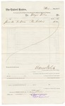 1883 June 30: Voucher, to George Till, for the costs of pen holders; paid by Thomas Boles, U.S. marshal