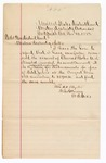 1883 November 10: Letter, from William H.H. Clayton, U.S. Attorney; regarding the review of the account of Thomas Boles, U.S. marshal