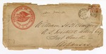 Envelope, addressed to William H.H. Clayton, U.S. District Attorney, from Department of Justice, Washington, D.C.