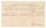 1883 December 26: Voucher, U.S. v. Elizabeth Chastme, et.al, perjury; Stephen Wheeler, U.S. Commissioner; includes the cost of per diem and mileage; Thomas Boles, U.S. marshal; R. Lornell, witness