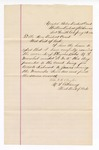 1884 January 5: Letter, to district court from William H.H. Clayton, U.S. Attorney; regarding the accounts of Thomas Boles, U.S. marshal