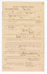 1885 January 26: Voucher, to Wilson David; includes cost of witness in U.S. v. Martin Bird, larceny; Stephen Wheeler, clerk; Thomas B. Larham, deputy clerk; Thomas Boles, U.S. marshal; George G. Gass, Max A. Mayer, witness to signatures