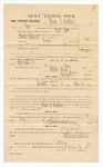 1885 January 26: Voucher, to Charles E. Weatherly; includes cost of witness in U.S. v. Martin Bird, larceny; Stephen Wheeler, clerk; Thomas B. Larham, deputy clerk; Thomas Boles, U.S. marshal