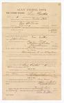 1885 January 26: Voucher, to Lum Larthers; includes cost of witness in U.S. v. One Spillman, larceny; Stephen Wheeler, clerk; S.A. Williams, deputy clerk; Thomas Boles, U.S. marshal