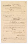 1885 January 22: Voucher, to Lennel W. Marks; includes cost of witness in U.S. v. William Curtis, murder; Stephen Wheeler, clerk; S.A. Williams, deputy clerk; Thomas Boles, U.S. marshal