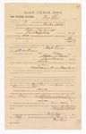 1885 February 6: Voucher, to Nat Levi; includes cost of witness in U.S. v. Wilson Yarbrough, counterfeiting; Stephen Wheeler, clerk, S.A. Williams, deputy clerk; Thomas Boles, U.S. marshal; Christopher C. Moore, witness to signatures