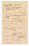 1885 January 22: Voucher, to George Vann; includes cost of witness in U.S. v. David West, larceny; Stephen Wheeler, clerk; Thomas B. Larham, deputy clerk; Thomas Boles, U.S. marshal; Max Mayer, witness of signatures