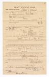 1885 January 12: Voucher, to Andrew J. Jeremiah; includes cost of witness in U.S. v. David West, larceny; Stephen Wheeler, clerk; Thomas B. Larham, deputy clerk; Thomas Boles, U.S. marshal; Henry McGoery