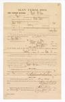 1885 January 22: Voucher, to Wyatt McLean; includes cost of witness in U.S. v. David West, larceny; Stephen Wheeler, clerk; S.A. Williams, deputy clerk; Thomas Boles, U.S. marshal