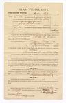 1885 November 9: Voucher, to Arthur Wilson; includes cost of witness in U.S. v. Jerry Fleetwood, larceny; S.A. Williams, deputy clerk; Stephen Wheeler, clerk; W.H. McDonald, witness of signatures; Thomas Boles, U.S. marshal