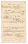 1885 January 14: Voucher, to David Vinson; includes cost of witness in United States v. George Brashears, murder; Thomas B. Larham, Stephen Wheeler, clerk; Thomas Boles, U.S. marshal; Max Hopp, witness of signatures