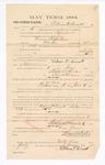 1885 January 23: Voucher, to William P. Sinnett; includes cost of witness in United States v. Thomas Stufferbean, murder; S.A. Williams, deputy clerk; Stephen Wheeler, clerk; Thomas Boles, U.S. marshal