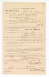 1885 January 23: Voucher, to George McElroy; includes cost of witness in United States v. Thomas Stufferbean, murder; S.A. Williams, deputy clerk; Stephen Wheeler, clerk; Thomas Boles, U.S. marshal; J.H. Oppenheimer, witness of signatures
