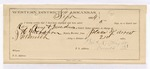 1884 September 2: Partial Voucher, U.S. v. William Meadows, F.M. Ray, and Joseph Ray, murder; includes cost per diem and mileage; includes oath of service; J.H. Mershon, deputy marshal; Thomas R. Knight, guard; Florene Meadows, George Alberty, Henry Stephens, witness; Stephen Wheeler, commissioner