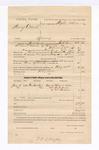 1885 February 24: Voucher, U.S. v. Henry Colbert, larceny in the Indian Country; includes cost of feeding prisoner and mileage; John G. Farr, deputy marshal; Stephen Wheeler, commissioner; Mitchell Willis, Britt Willis, Mrs. Fulsom, witnesses