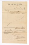 1885 July 1: Voucher, to Alexander May; includes cost for services rendered as janitor; Stephen Wheeler, clerk; G.S. Williams, deputy clerk; Thomas Boles, U.S. marshal