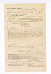 1885 June 18: Voucher, to Mark Little, of Fayetteville, Arkansas, for assisting L.H. Ramey, deputy marshal, in U.S. v. One Oakslire, U.S. v. William Downing, U.S. v. One Schard, and others; E.B. Harrison, commissioner; Stephen Wheeler, clerk; Thomas Boles, U.S. marshal