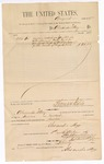 1885 September 1: Voucher, to Alexander May; includes cost for services rendered as janitor; Thomas Boles, U.S. marshal; Stephen Wheeler, clerk; S.A. Williams, deputy clerk