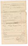 1885 September 5: Voucher, U.S. v. Ben Bowlegs; includes cost of subpoena for witness; John Paterson, deputy marshal; Lucinda Waller, witness; Stephen Wheeler, clerk; S.A. Williams, deputy clerk; Thomas Boles, U.S. marshal