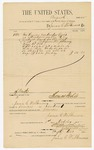 1885 October 1: Voucher, to James C. Wilkinson; for services rendered as crier in attendance of U.S. court; Thomas Boles, U.S. marhshal; Stephen Wheeler, clerk; S.A. Williams, deputy clerk