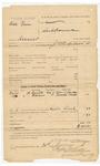 1886 January 30: Voucher, U.S. v. Dick Vann, assault in the Indian Country; includes cost of subpeonas; Julius S. Hamer, Joseph Worth, witnesses; J.E. Richardson, deputy marshal; Stephen Wheeler, clerk; S.A. Williams, clerk; John Carroll, U.S. marshal