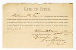 1885 December 2: Oath of office, sworn by William M. Erwin; signed by Isaac C. Parker, judge; Stephen Wheeler, clerk