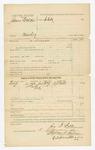 1886 January 5: Voucher, U.S. v. James Walker, murder in the Indian Country; includes cost of subpoenas; O.J. Watts, witness; John G. Farr, deputy marshal; Stephen Wheeler, clerk; S.A. Williams, deputy clerk; John Carroll, U.S. marshal