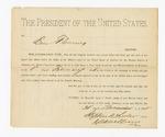 1811 February 1: Subpoena, U.S. v. Madra Hurt et.al; commanding Ben Flemming to appear in court; Isaac C. Parker, judge; Stephen Wheeler, clerk; S.A. Williams, deputy clerk