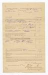 1886 May 5: Voucher, U.S. v. John Penoskee, introducing spirituous liquor into Indian Country; includes cost of warrant, mileage, and feeding prisoner; A. Hammon, John Pettit, witnesses; John Q. Tufts, commissioner; Frank Smith, deputy U.S. marshal; Stephen Wheeler, clerk; S.A. Williams, deputy clerk; John Carroll, U.S. marshal