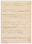 1887 June 10: Voucher, U.S. v. Dan Brown, violating internal revenue law; includes cost of mileage and subpoenas for witnesses; George E. Williams, deputy marshal; Richard Allen, Charles Mingo, witnesses