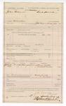 1887 August 18: Voucher, U.S. v. John Bohanan, murder; includes cost of mileage; James W. Everidge, deputy marshal; Henry Willis, Mitchell Willis, witnesses; Stephen Wheeler, clerk