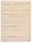 1887 June 18: Voucher, U.S. v. Paul Finn, larceny; includes cost of warrant committing to jail; Stephen Wheeler, commissioner