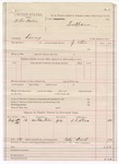 1887 July 15: Voucher, U.S. v. Willis Brodie, larceny; includes cost of mileage; J. Ellis, deputy marshal; S.K. Skeen, witness