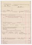 1887 July 18: Voucher, U.S. v. Sam Brewer, assault; includes cost of mileage; J. Ellis, deputy marshal; William Parker, Beckey Eldridge, witnesses