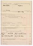 1887 July 18: Voucher, U.S. v. Baxter Poather, larceny; includes cost of witness subpoenas; W.Z. Landerdale, Dr. Fowler, witnesses