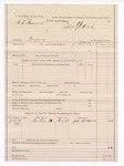 1887 August 9: Voucher, U.S. v. N.S. Anderson, forgery; includes cost of subpoena for witness; J. Ellis, deputy marshal; James Brown, witness