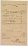 1887 August 2: U.S. v. Cornelius Island; includes cost of mileage and service; J. Ellis, deputy marshal; Jamie Whinery, Mark Whinery, Mrs. Cane, Charles Sleur, Andy Luster, witnesses
