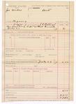 1887 July 29: Voucher, U.S. v. Joe Mills, bigamy; includes cost for committing to jail; J.C. Pettigrew, deputy marshal