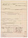 1887 August 3: Voucher, U.S. v. George Smith, murder; includes cost of subpoenas for witnesses; B.C. Cantrell, deputy marshal; Elizabeth Clark, Emma Grils, Sis Davis, Tackey Barnes, Estes Usery, John Davis, Bill Hicks, witnesses