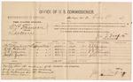 1887 February 8: Voucher, U.S. v. W.P. Munson, larceny; includes cost of per diem and mileage; W.S. Getzerdaner, K.M. Roberta, R.B. Johnson, Joseph Zuban, witnesses; John Carroll, U.S. marshal; J.M. Tufts, commissioner