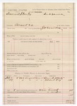 1887 May 15: Voucher, U.S. v. Samuel Stanley, assault with intent to kill; includes cost of subpoena for witnesses; J.W. Everidge, deputy marshal; Daniel Albert, Edward Fry, witnesses