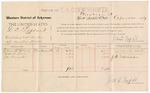 1887 April 20: Voucher, U.S. v. D.D. Laftand, violating internal revenue law; includes cost of per diem and mileage; Elmer E. Clark, Robert A. Steele, J.N Schrimsher, witnesses; Jonathan Q. Tufts, commissioner; John Carroll, U.S. marshal