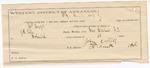 1887 September 14: Voucher, U.S. v. James Boggs, larceny; includes cost of mileage and feeding prisoner; J.H. Cole, deputy marshal; Jackson Moore, posse comitatus